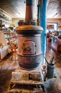Old stove in Country Store