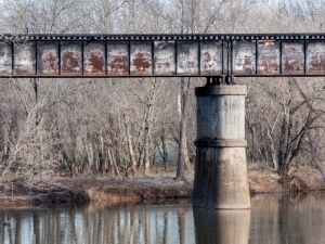 RR Bridge over the Rapidan