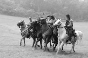 Charging Cavalry