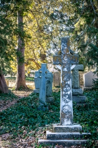 The historic UVA Cemetery is so beautiful with the ancient headstones.
