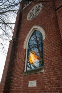 Grace Baptist Church window