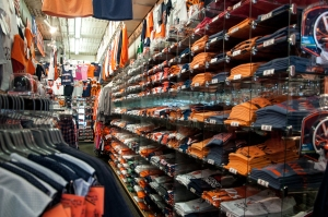 THE student store on the Corner at UVA.  All things orange and blue.
