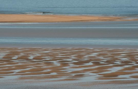 Red sand beach 1